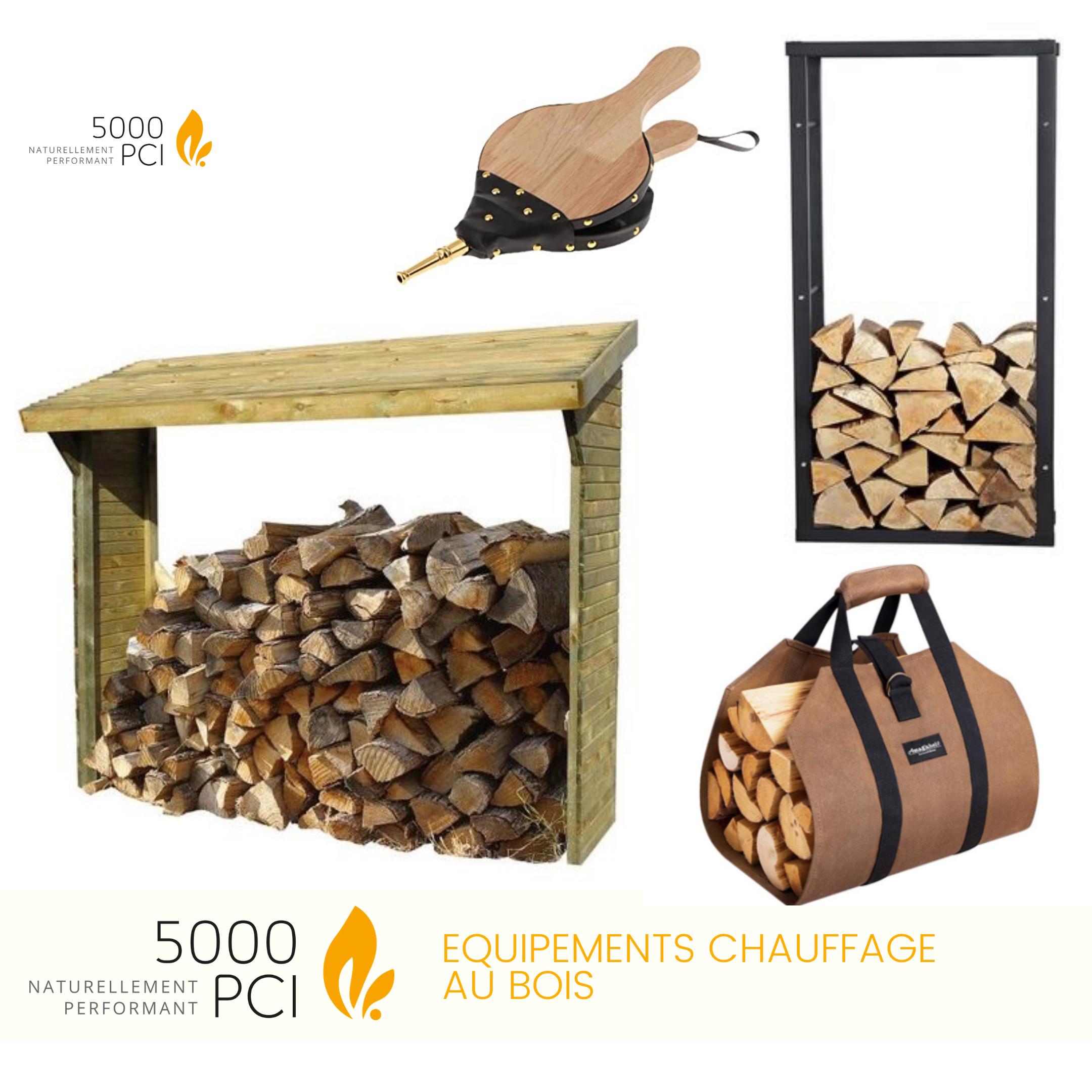 Accessoires, équipements, bois, chauffage