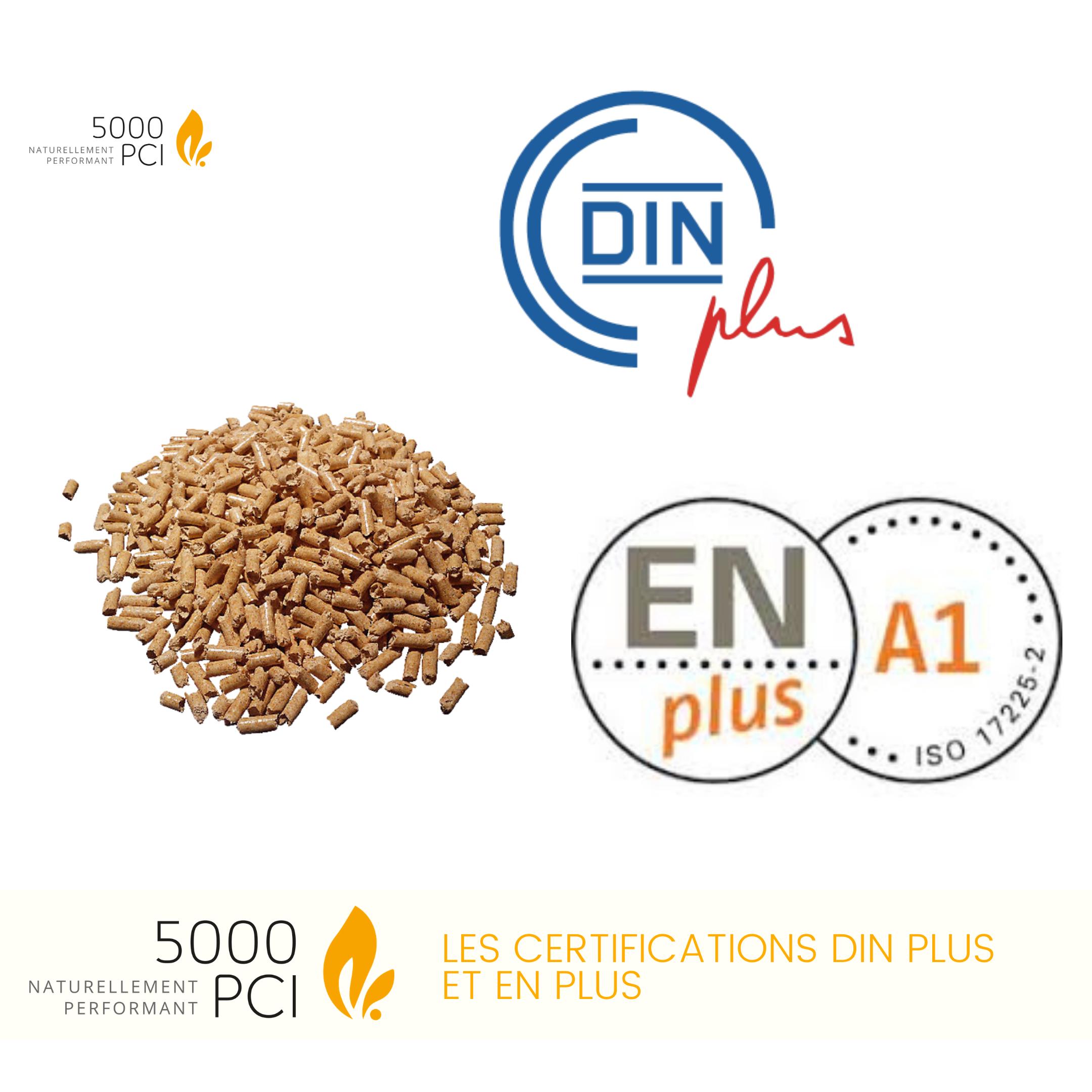 Certifications, bois, chauffage, pellets, granulés